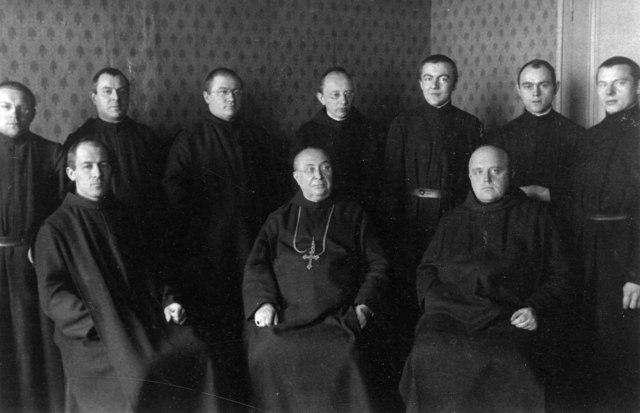 Einzug der Mönche von Merkelbeek, Holland
