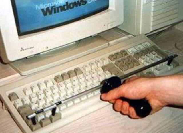 """Aprendi a ligar o computador, e o que era """"CTRL+ALT+DEL"""""""
