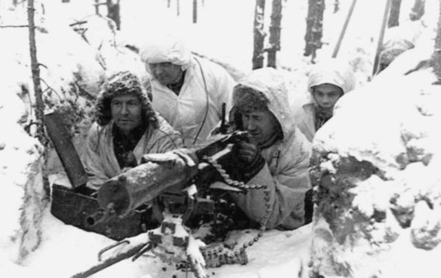 Finnish- Soviet War 30 November 1939 (Sunny)