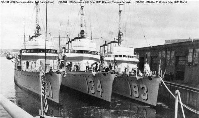 Destroyers for Bases Deal September 2, 1940 (Sunny)