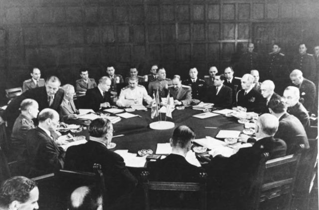 Potsdam Conference 16 July 1945