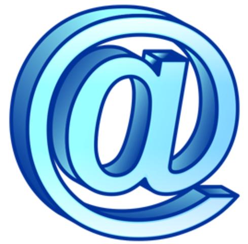 рождается e-mail