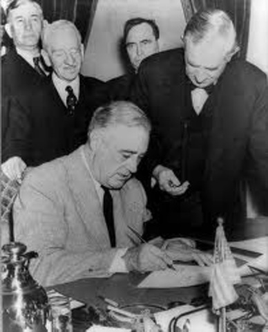Lend-Lease Act signed