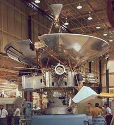 Launch of unmanned Pioneer 10