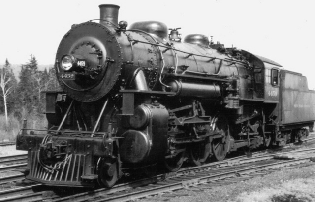 The first locomotive in US