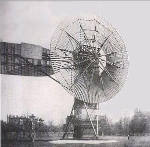 The first wind turbine