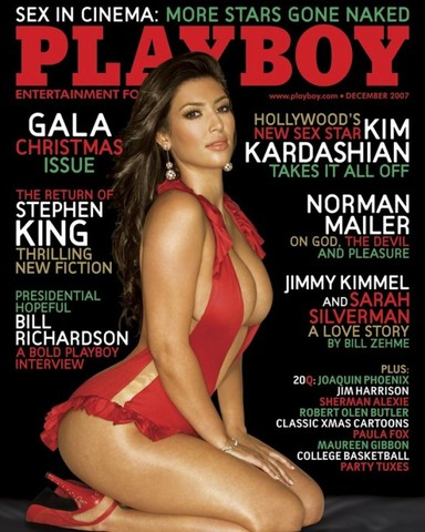Poses nude for Playboy