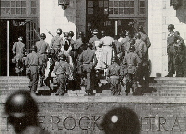 """Crisis at Central High School and the """"Little Rock Nine"""""""