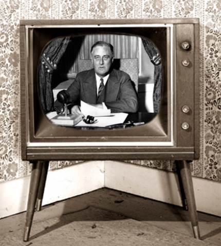 First Public Television Broadcoast