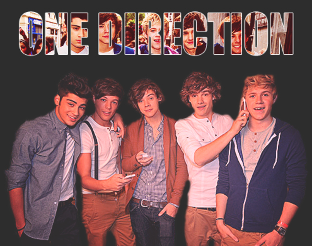 One direction get signed