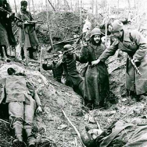 German troops in Italy surrender