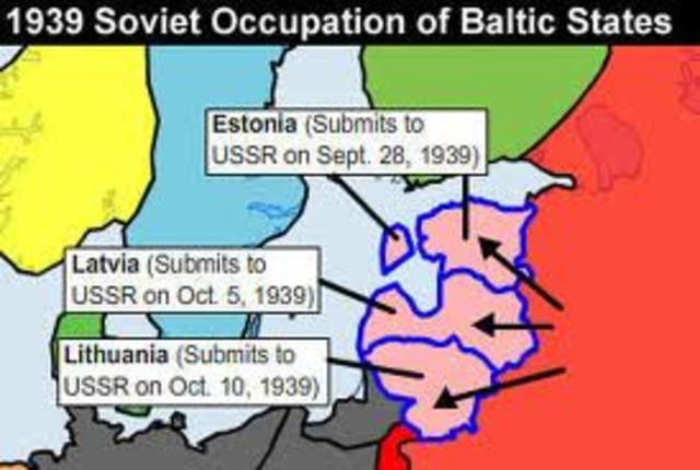 Soviet invasion of Baltics