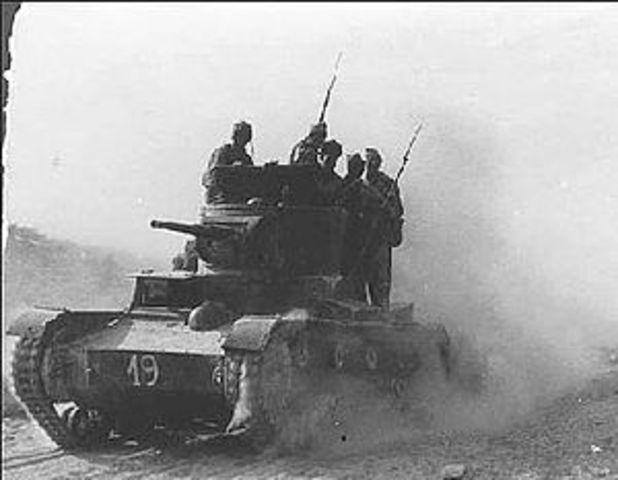 Spanish Civil War July 17th, 1936 -April 1st, 1939