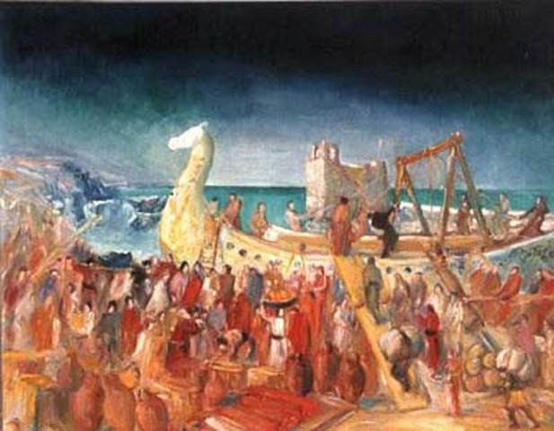 Impact of Phoenicians of their trading routes