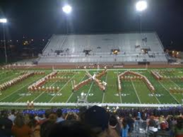 First Band to Spell a word on the field