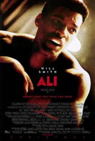 Receives a Best Actor Oscar nomination for his portrayal of boxer Muhammad Ali in Ali.