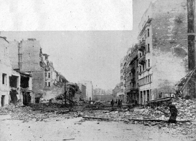 Belgrade Falls (6th April 1941)