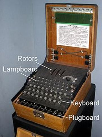 Enigma Captured  (25th July, 1939)