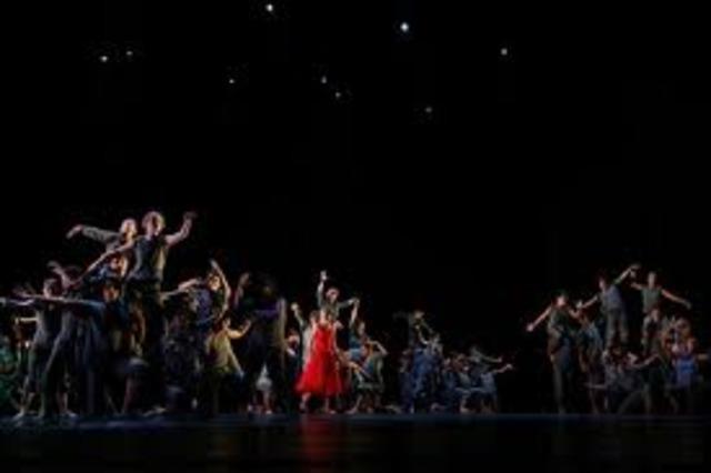 "Ballet Russes premiere of  Stravinsky's ""The Firebird"" in Paris"