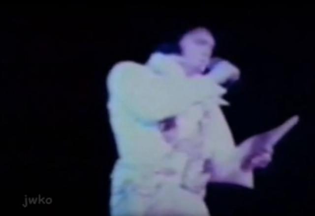 Elvis Presley's final performance