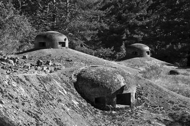 Construction of Maginot Line between 1930-1940