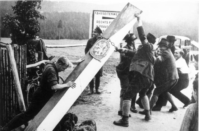 Occupation of the Sudetenland between October 1 and 10, 1938