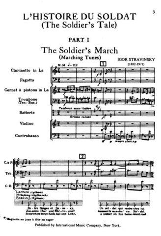 """""""L'Histoire Du Soldat"""""""