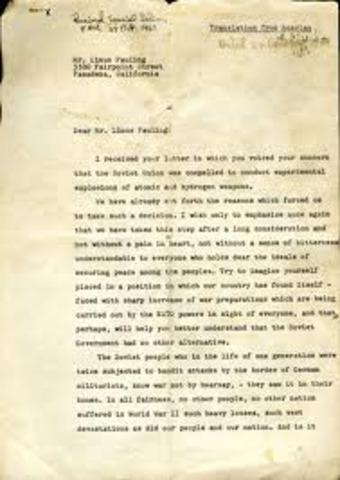 Letter to Khrushchev