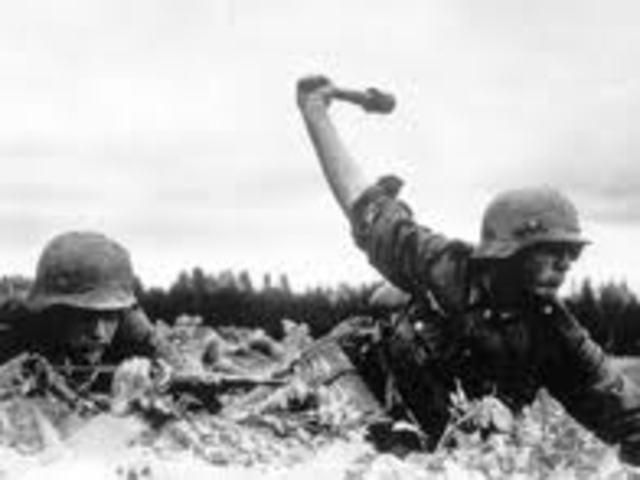 Invasion of USSR June 22, 1941