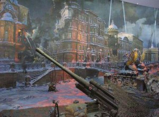 Seige of Leningrad (8 Sept 1941- 27 Jan 1944)