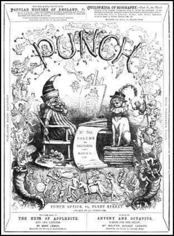 Release of Punch Magazine