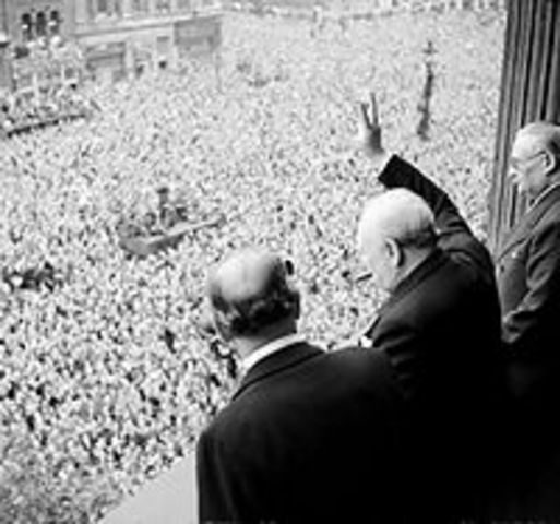 VE Day - Victory Day of May 8, 1945