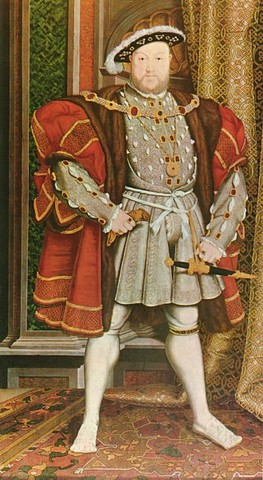 Henry VIII of England dies