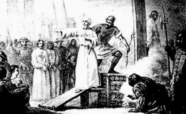 Muerte de Jacques de Molay