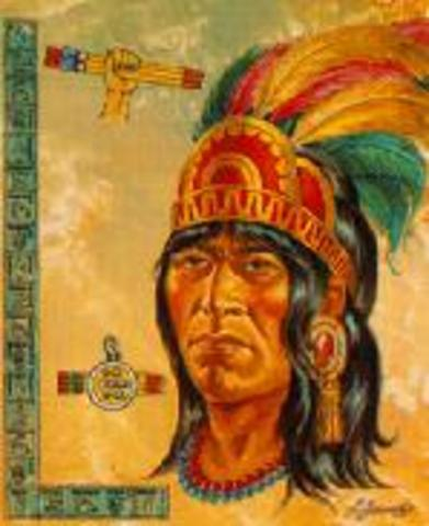 The first king of Tenochtitlán