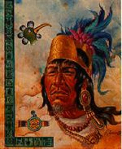 The second king of Tenochtitlán