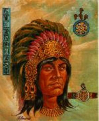 The third king, Chimalpopoca
