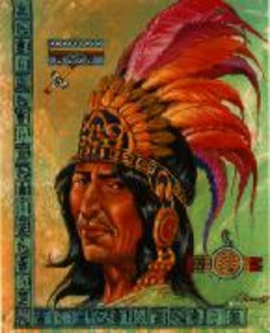 The fifth king, Moctezuma