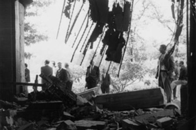 Hebrew Benevolent Congregation in Atlanta Bombed