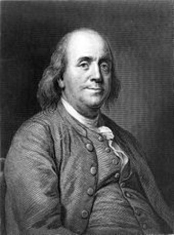 Benjamin Franklin conducted expirements with electricity using a key and a kite