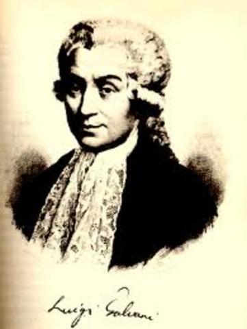 Luigi Galvani discovered bioelectricity