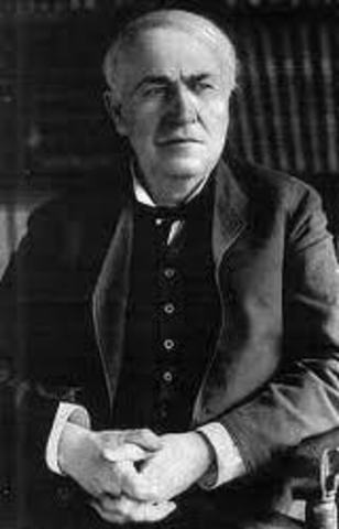 Thomas Edison invented the phonograph