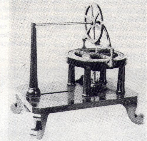Thomas Davenport invented the electric motor,