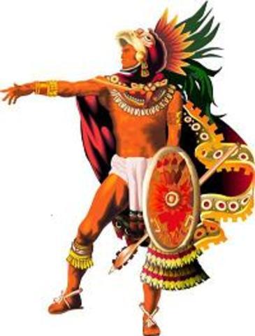 Acamapichtli gobierna México-Tenochtitlan como el primer tlatoani.