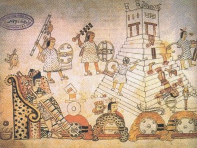 Muerte de Hutzilíhuitl de Tenochitlan, ascenso de Chimalpopoca.