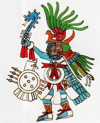 Busqueda de la profecia del dios Huitzilopochtli