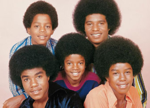 The Jackson 5 won an important local talent competition