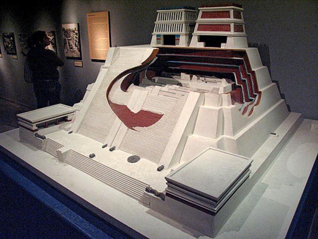 Construccion del templo mayor