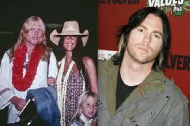 After the marriage with Gregg, Elijah Blue Allman is born, she then reunites with Sonny on a TV show.