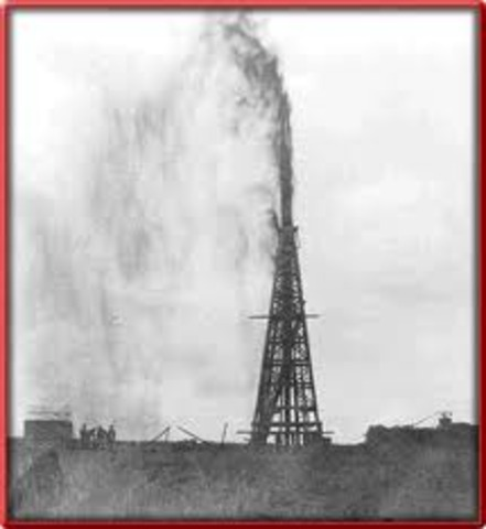 First Oil Well